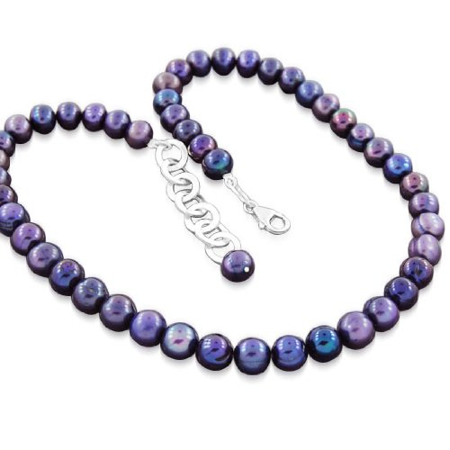 925 Sterling Silver South Sea Pearl Strand Necklace Jewelry