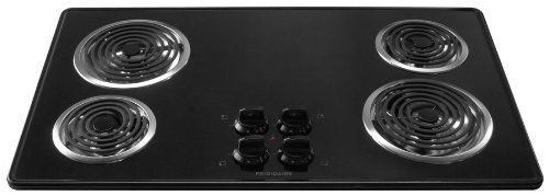 36 In. Coil Top Electric Cooktop - Black (Electric Cooktop Coil compare prices)