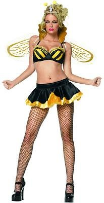 Queen Bee Sexy Costume