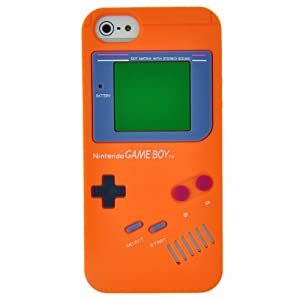 Game Boy Style Silicone Cool Phone Case Cover Skin For iPhone 5 5G 5th