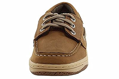 Sperry Top-Sider Boy's Billfish Dark Tan Fashion Boat Shoes