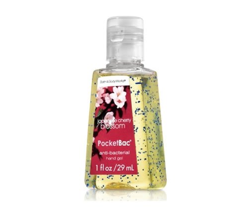 バス&ボディワークス ハンドジェル 29ml ジャパニーズチェリーブロッサム Bath&Body Works AntiーBacterial PocketBac Sanitizing Hand Gel Japanese Cherry Blossom