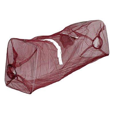 Como Metal Frame Folding Lobster Shrimp Trap Nylon Fishing Net Cage