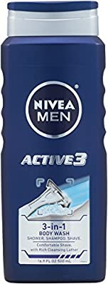 Best Cheap Deal for Nivea Mens Body Wash Active 3 16.9 Oz from Beiersdorf Inc - Free 2 Day Shipping Available