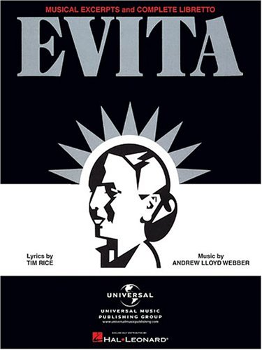 Evita - Musical Excerpts and Complete Libretto (Andrew Lloyd Webber Sheet Music compare prices)