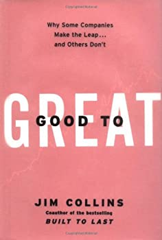 """Cover of """"Good to Great: Why Some Compani..."""