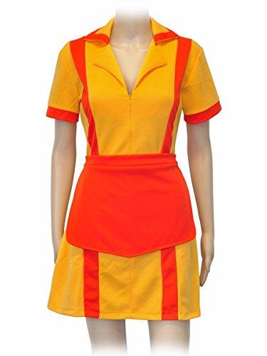 CoolChange 2 Broke Girls uniforme da cameriera con grembiule. Misura: XL