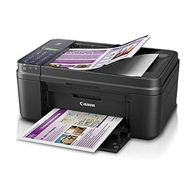 Canon E 480 Colour Wifi Multifunction Inkjet Printer (Black)