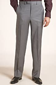 Autograph Wool Rich Flat Front Trousers [T15-0888A-S]