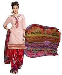 StarMart Womens Cotton Patiyala Dress Material VOL 27 - 3765
