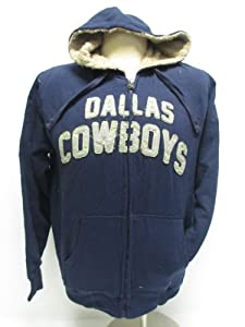 Dallas Cowboys Full Zip All-terrain Sherpa Hoodie by NFL