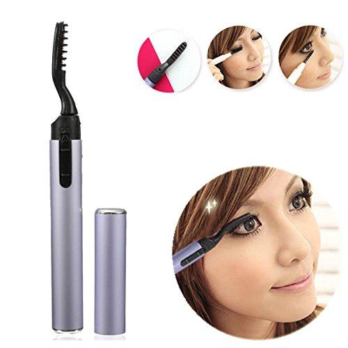 LuckyFine Recourbe-cils Electrique Chaufrant Eyelash Curler Durable Potatif Maquillage Professionnel