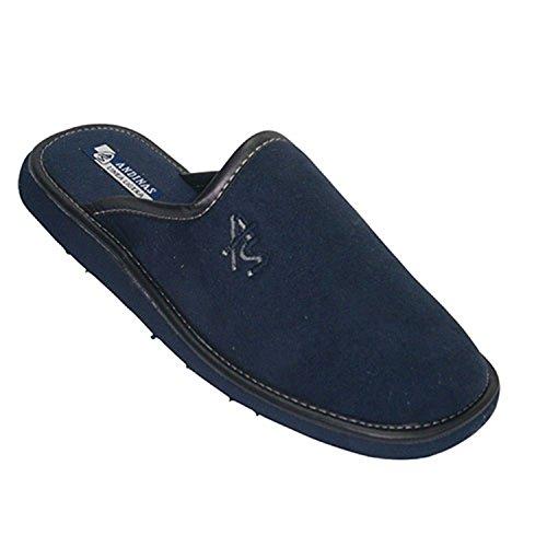 Pantofole infradito chiuso per la punta Andinas blu navy taille 46