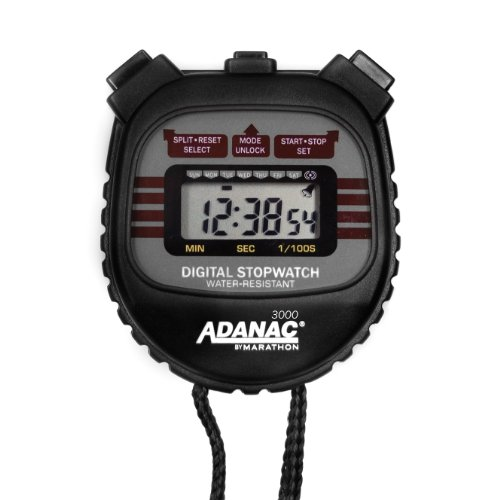 Adanac Marathon Digital Stopwatch