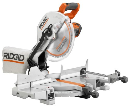 Ridgid r4120 saw 12 inch compound miter with laser inexpensive saws