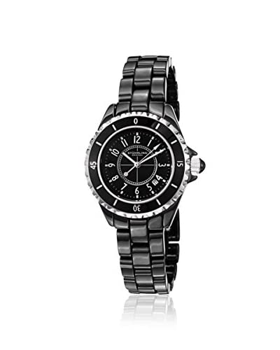 Stuhrling Women's 530.11OB1 Fusion Black Ceramic Watch