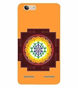 D KAUR Sri yantra Back Case Cover for Lenovo Vibe K5 Plus