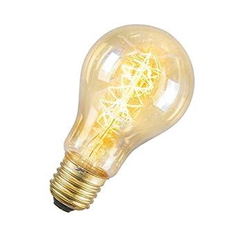 2 calex ampoule d corative filaments dor s 240v 35w e27 a60 a60 60x105mm 2000. Black Bedroom Furniture Sets. Home Design Ideas