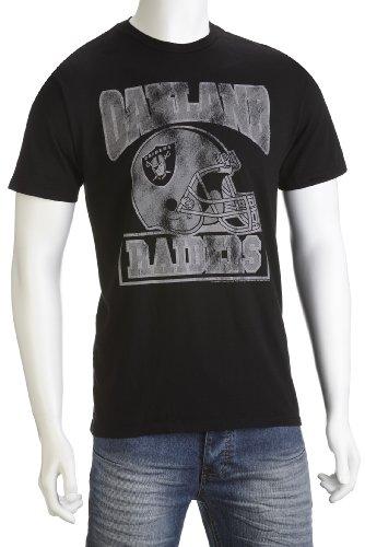 Junk Food Men's Oakland Riders T-Shirt Black NF008-152 Small