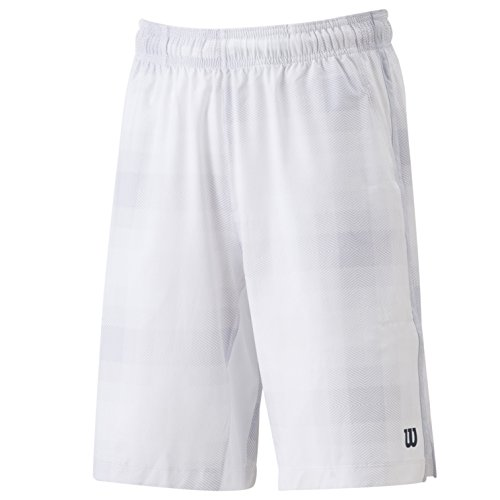 Wilson pantaloncini da Summer Blur Plaid in tessuto Stretch, bianco, L, WRA700402