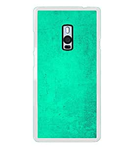 Light Green Texture 2D Hard Polycarbonate Designer Back Case Cover for OnePlus 2 :: OnePlus Two :: One +2