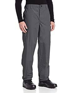 TRU-SPEC Men's Polyester Cotton Rip Stop BDU Pant, Charcoal Grey, Medium
