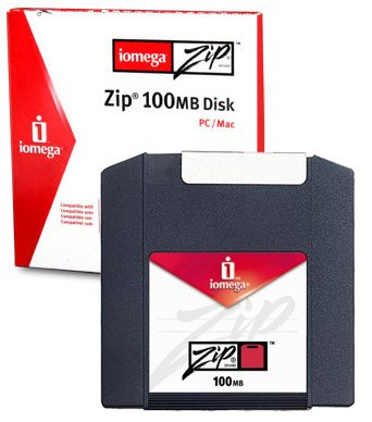 Iomega Zip Disk 100MB - PC & Mac Format