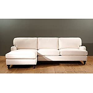 Eton 2 piece sectional with right arm apartment sofa and for Amazon sectional sofa with chaise