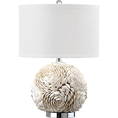 Safavieh Lighting Collection Pauley White 23-inch Table Lamp