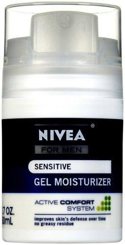 Beiersdorf Nivea Sensitive Gel Moisturizer for Men, 1.7 Ounce
