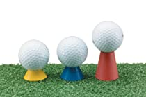 Jef World of Golf Gifts and Gallery, Inc. Winter Tees (Multicolor, Set of 3)