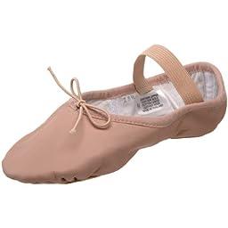 Bloch Dance Dansoft Split Sole Ballet Slipper - Little Kid (4-8 Years), 1 C US Little Kid
