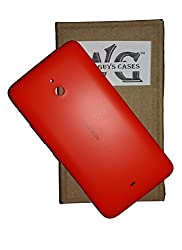 Wise Guys Back Battery Door Panel Replacement for Nokia Lumia 1320 Housing Case - Red