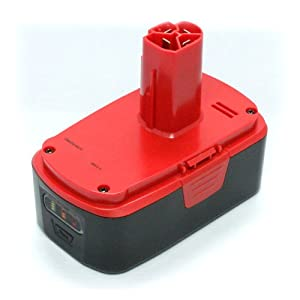 MaximalPower PTB CRA11374  Power Tool Replacement Battery for Craftsman C3, 19.2V, 3000mAh