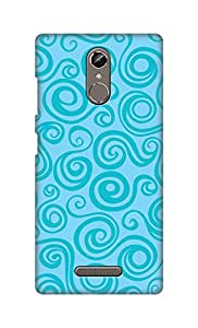 SWAG my CASE Printed Back Cover for Gionee S6s