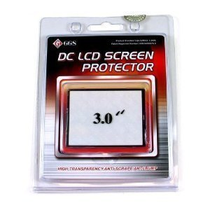 "Ggs Optical Glass Lcd Screen Protector 3.0"" For Sony Dsc-Hx5V 10.2Mp"