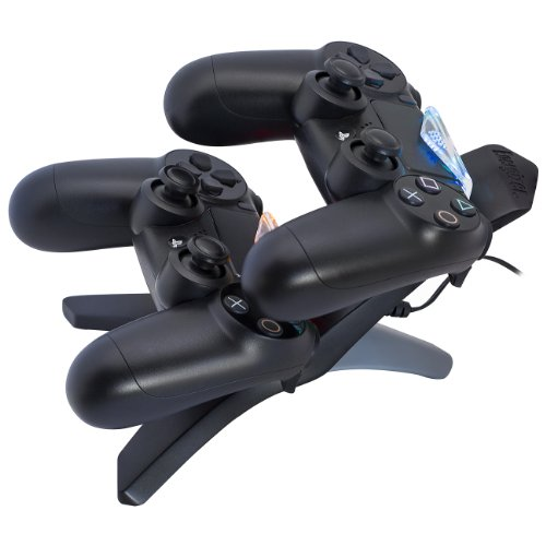 Pdp energizer 2x charging station for ps4 playstation 4 for Housse manette ps4