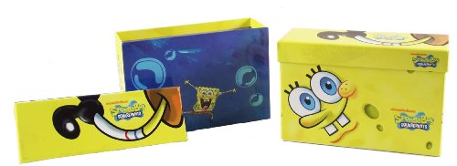 SpongeBob SquarePants Sticker Box Set, Includes 2 Box Sets - 30 Sheets of Stickers Total, 8 Different Designs - 1