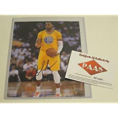 Andre Iguodala Autographed Photograph - Indiana Pacers 8x10 PAAS Certified Coa -...