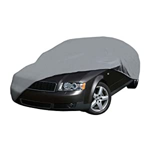 Overdrive Deluxe Four Layer Car Cover - Compact by Brookstone