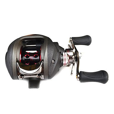 Trulinoya - (TR120RA) Fishing Reel 10+1 Ball Bearing Left Hand (Black)
