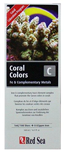 Red-Sea-Reef-Coral-Colors-C-Complexe-de-Fer-Elments-Traces-Complmentaires-pour-Favoriser-Couleur-Vert-des-Coraux-500-ml