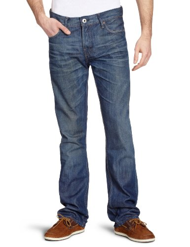 Firetrap Rom-G2 Straight Men's Jeans Kdx Wash W32 INxL32 IN