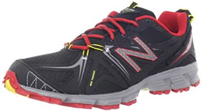 New Balance Mens Trail Running Shoes MT610GB2 Black/Red 13.5 UK, 49 EU