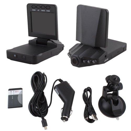 Eastvita® 2.5-Inch Hd Car Led Ir Vehicle Dvr Road Dash Video Camera Recorder Traffic Dashboard Camcorder - Lcd 270 Degrees Whirl