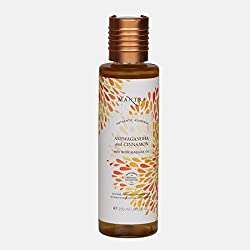 Mantra Ashwagandha and Cinnamon Vata Body Massage Oil (250 ml)