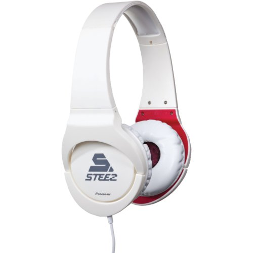 Pioneer Se-Mj721I-W Steez On-Ear Stereo Headphones - White