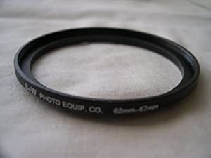 HeavyStar Dedicated Metal Stepup Ring 62mm-67mm
