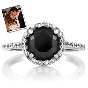 Carrie's Faux Black Diamond Ring - Inspired by Sex & the City 2 by Emitations