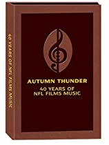 Big Sale Best Cheap Deals Autumn Thunder: 40 Years NFL Films Music